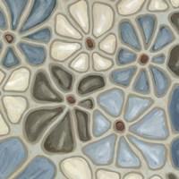 Tiled Petals II Fine Art Print