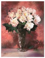"""Floral Still Life III by Li Bo - 23"""" x 29"""""""