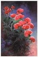 "Vibrant Poppies by Li Bo - 25"" x 37"", FulcrumGallery.com brand"