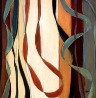 Falling Ribbons III Fine Art Print