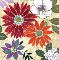 Vintage Floral II Fine Art Print