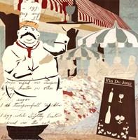 "Vin Du Jour by Kyle Mosher - 12"" x 12"""
