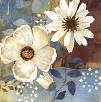 Flowers At Dawn II Framed Print