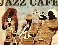 Jazz Cafe Fine Art Print