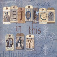 """Rejoice in the Day by Carol Robinson - 12"""" x 12"""""""