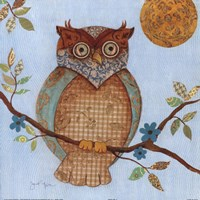"""Wise Owl I by s - 12"""" x 12"""""""