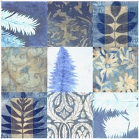 """Blue Textures 9 - Patch by Vision Studio - 28"""" x 28"""""""
