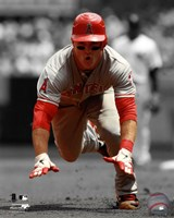 Mike Trout 2012 Spotlight Action Fine Art Print