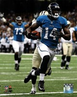Justin Blackmon 2012 Action Fine Art Print