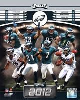 Philadelphia Eagles 2012 Team Composite Fine Art Print