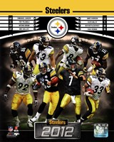"""Pittsburgh Steelers 2012 Team Composite - 8"""" x 10"""""""