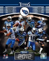 Tennessee Titans 2012 Team Composite Fine Art Print