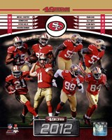 San Francisco 49ers 2012 Team Composite Fine Art Print