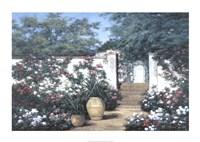 "Jardin de Fleur by Diane Romanello - 34"" x 24"""