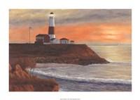 "Montauk LH Sunset by Diane Romanello - 44"" x 27"""