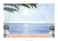 """My Blue Heaven by Diane Romanello - 34"""" x 24"""" - $37.49"""