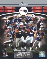 New England Patriots 2012 Team Composite Fine Art Print