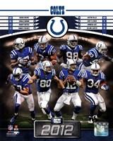 Indianapolis Colts 2012 Team Composite Fine Art Print