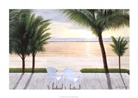 "Palm Bay Dreaming by Diane Romanello - 34"" x 24"" - $30.99"