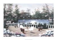 """Terrace View by Diane Romanello - 34"""" x 24"""""""