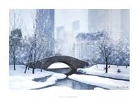 "The Plaza by Diane Romanello - 34"" x 24"""