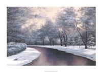 """Winter Sunlight by Diane Romanello - 44"""" x 27"""", FulcrumGallery.com brand"""