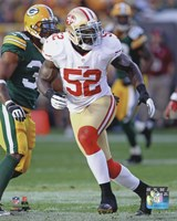 Patrick Willis 2012 Action Fine Art Print