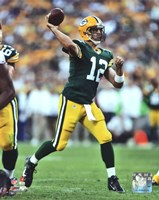 Aaron Rodgers 2012 football Fine Art Print