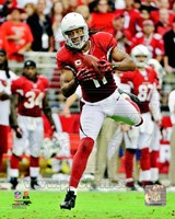 Larry Fitzgerald 2012 Action Fine Art Print