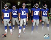 New York Giants 2012 Team Introduction Fine Art Print