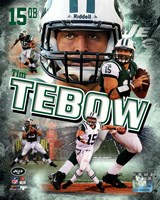 Tim Tebow 2012 Portrait Plus Framed Print