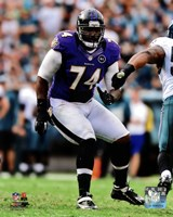 Michael Oher 2012 Action Fine Art Print
