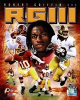 Robert Griffin III 2012 Portrait Plus Fine Art Print