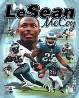 LeSean McCoy 2012 Portrait Plus Fine Art Print