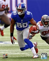Victor Cruz 2012 with the ball Fine Art Print