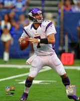 Christian Ponder 2012 football Fine Art Print