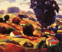 """The Valley by William Hannum - 30"""" x 24"""""""