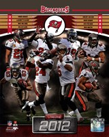Tampa Bay Buccaneers 2012 Team Composite Fine Art Print