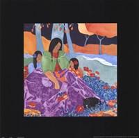 """Mis Hijas by Julie Vance - 18"""" x 18"""""""