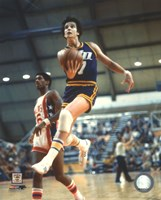 Pete Maravich Action Framed Print