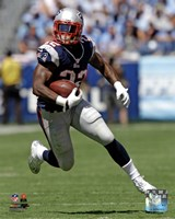 Stevan Ridley 2012 with the ball Fine Art Print