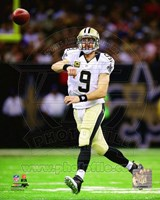 Drew Brees On Football Field Fine Art Print