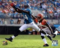 Justin Blackmon 2012 catch Fine Art Print