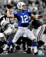Andrew Luck 2012 Spotlight Action Fine Art Print