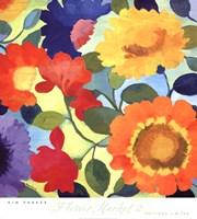 Flower Market II Fine Art Print