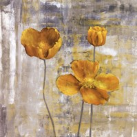 Yellow Flowers II Fine Art Print