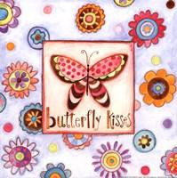 "Butterfly Kisses by Bernadette Deming - 12"" x 12"""