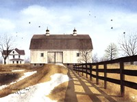"""Grandpap's Barn by Billy Jacobs - 16"""" x 12"""""""