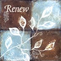 "Renew by Britt Hallowell - 12"" x 12"""