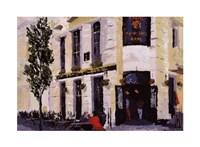 """Street Scenes by David Dean - 24"""" x 18"""""""